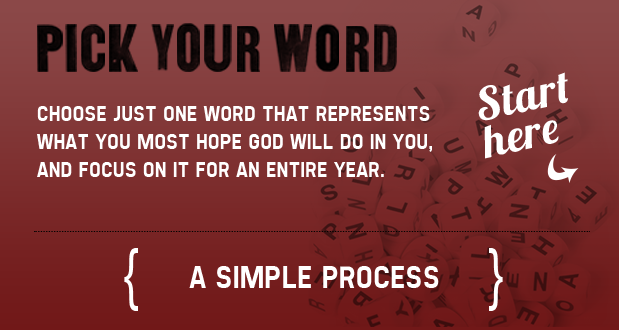 Pick Your Word « My One Word